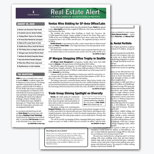 Real Estate Alert: Featured Issue